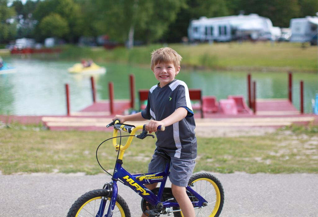saginaw bay resort kid bike