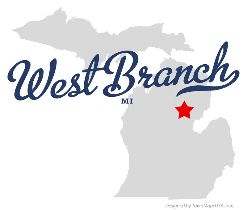 map_of_west_branch_mi