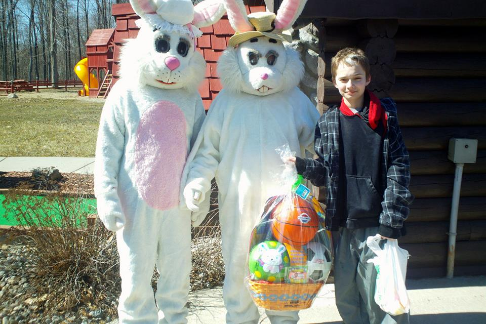 prizes and bunnies